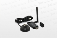 z.B. BEST HQWL 45 WiFi USB Adapter + Dockstation (Linux Receiver)