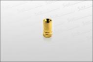 F-Stecker vergoldet 7,5mm (für 120 dB Kabel)