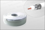 Hochwertiges Koaxialkabel 100m Ring 90dB Digiline HD-tauglich