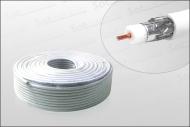 z.B. Hochwertiges Koaxialkabel 100m Ring 120dB Digiline HD-tauglich (Sat-Kabel)