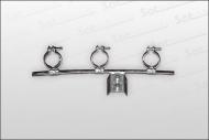 z.B. Multifeedhalter für 3 LNB's (Multifeedhalter)