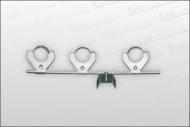 Multifeedhalter für 3 LNB's Universal
