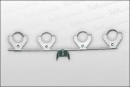 Multifeedhalter für 4 LNB's Universal